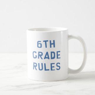 6th Grade Rules Coffee Mug