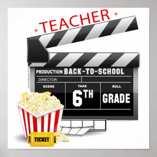 6th Grade Teacher Poster