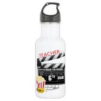 6th Grade Teacher Water Bottle