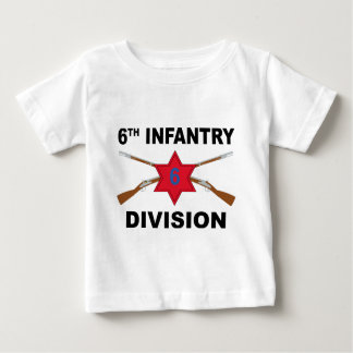 6th Infantry Division - Crossed Rifles Infant T-shirt