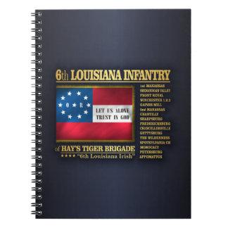 6th Louisiana Infantry (BA2) Notebook