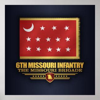 6th Missouri Infantry (v10) Poster