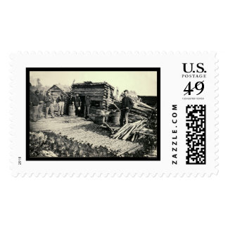 6th N.Y. Artillery Camp at Brandy Station, VA 1864 Postage