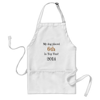 6th Place Top Ten Adult Apron