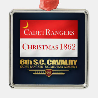 6th SC Cavalry (Cadet Rangers) Metal Ornament