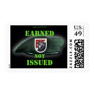 6th Special Forces flash Green Berets vet Postage