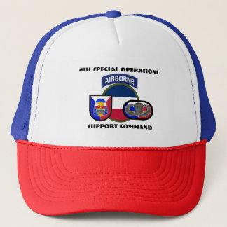 6TH SPECIAL OPERATIONS SUPPORT COMMAND HAT