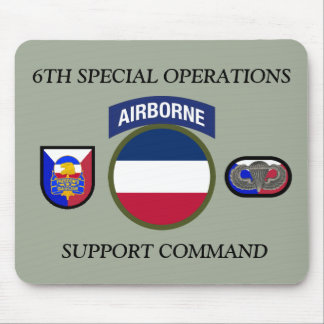 6TH SPECIAL OPERATIONS SUPPORT COMMAND MOUSEPAD