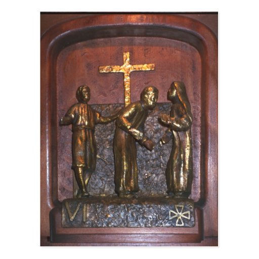 6th Station of the Cross Postcards