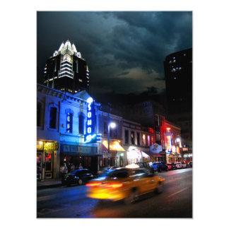 6th Street Downtown Austin Texas Photo Print