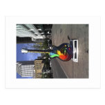 6th street guitar, Austin series Post Card