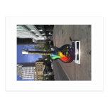 6th street guitar, Austin series Postcard
