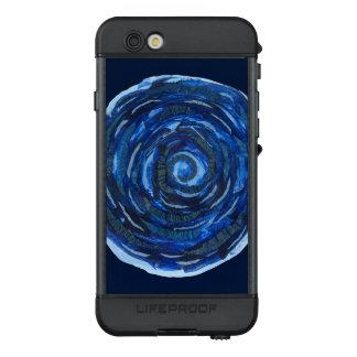 6th-Third Eye Chakra #2 Indigo Mixed Media LifeProof NÜÜD iPhone 6s Case