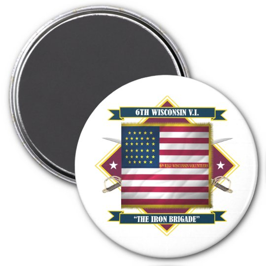 6th Wisconsin Infantry Magnet