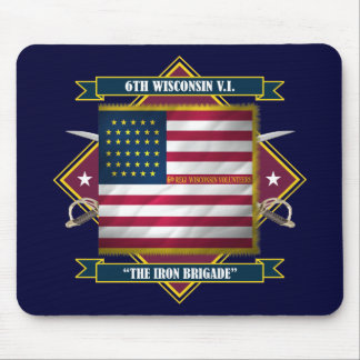 6th Wisconsin Infantry Mouse Pad
