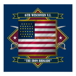 6th Wisconsin Infantry Poster