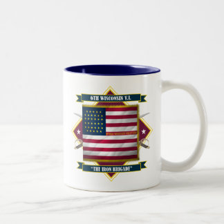 6th Wisconsin Infantry Two-Tone Coffee Mug