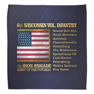 6th Wisconsin Volunteer Infantry (BH) Bandana