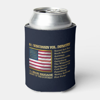 6th Wisconsin Volunteer Infantry (BH) Can Cooler