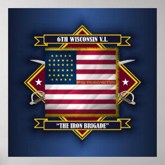6th Wisconsin Volunteer Infantry Poster
