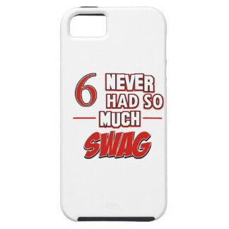 6th year birthday designs iPhone SE/5/5s case