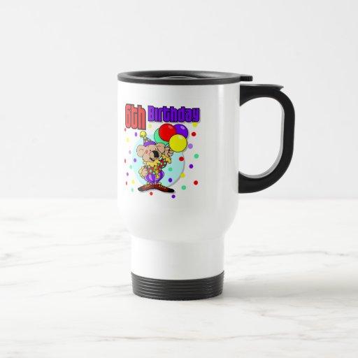 6to Cumpleaños de Australia del cumpleaños Taza De Café