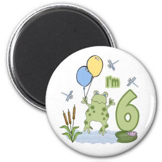 6to cumpleaños del Froggy Imanes