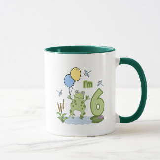 6to cumpleaños del Froggy Taza