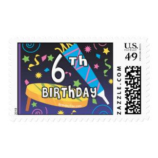 6to Cumpleaños Sello