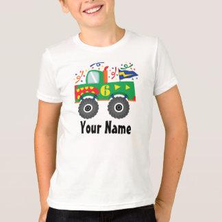 6to El cumpleaños personalizó la camiseta del