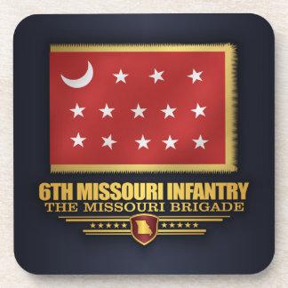 6to Infantería de Missouri (v10) Posavasos
