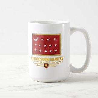 6to Infantería de Missouri (v10) Taza Clásica