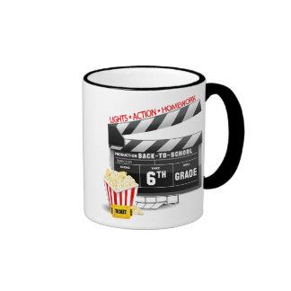 6to Tablilla de la película del grado Tazas De Café