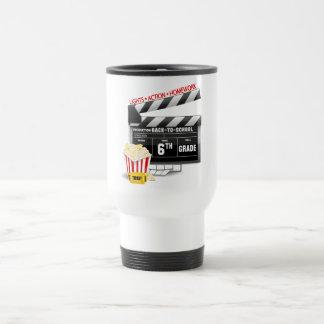 6to Tablilla de la película del grado Taza De Café