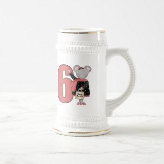 6tos regalos de cumpleaños del pequeño ratón jarra de cerveza