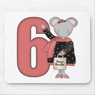 6tos regalos de cumpleaños del pequeño ratón alfombrillas de raton