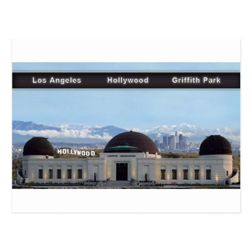 6x11 LOS ÁNGELES HOLLYWOOD GRIFFITH Postales