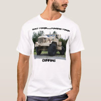 6X6 Military Truck T-Shirt