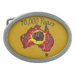 70000 años de hebilla del cinturón hebilla cinturón oval