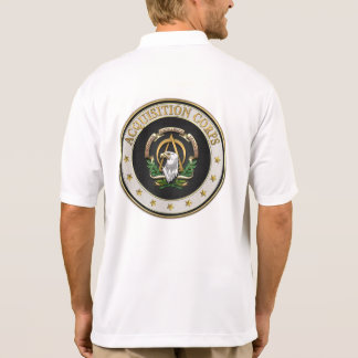 [700] Acquisition Corps (AAC) Branch Insignia [3D] Polo T-shirt