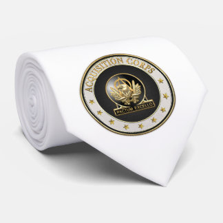 [700] Acquisition Corps (AAC) Regimental Insignia Neck Tie
