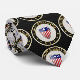 [700] Adjutant General's Corps Branch Insignia [3D Neck Tie