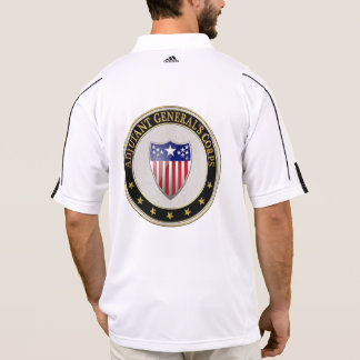 [700] Adjutant General's Corps Branch Insignia [3D Polo T-shirt