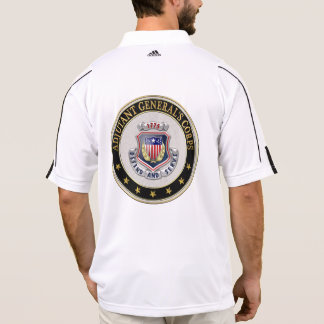 [700] AG Corps Regimental Insignia [3D] Polo T-shirt