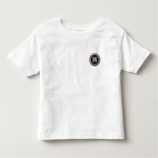 [700] Babylonian Winged Bull [Silver] [3D] Toddler T-shirt