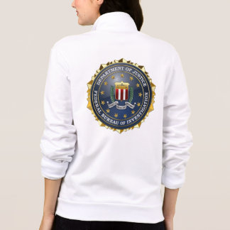[700] Edición especial del FBI Chaqueta Imprimida