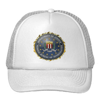 [700] FBI Special Edition Mesh Hats
