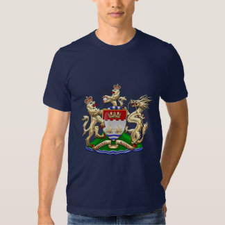 [700] Hong Kong Historical 1959-1997 Coat of Arms Tee Shirt