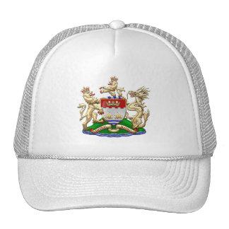[700] Hong Kong Historical 1959-1997 Coat of Arms Trucker Hat