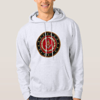 [700] Masonic Square and Compasses [3rd Degree] Hoodie